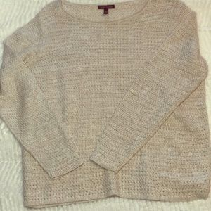 Eileen Fisher organic cotton and linen sweater